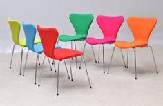 Chair design by Arne Jacobsen