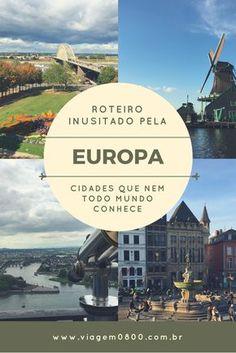 Rota inusitada pela Europa! Cidades que pouca gente ouviu falar | Viagem 0800