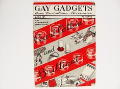 Crocheting Embroidery Pattern Book Gay Gadgets 1938 Home