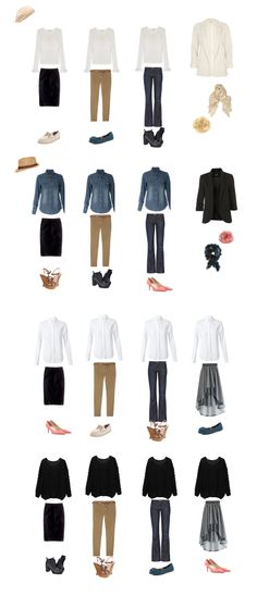 Simple, casual capsule wardrobe for fall