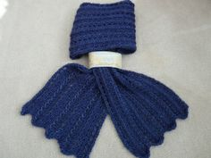 3 prong tool lace scarf