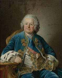 Louis III Phélypeaux, Comte de St.-Florentin, Marquis puis 1er. Duc de La Vrillière (1705-1777), Secrétaire d'État et Ministre de la Maison du Roi.