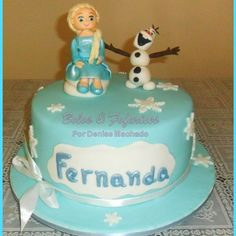 Frozen Cakes / Bolo Frozen / Elsa and Olaf