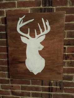 Oh Deer thats a nice Buck  Hand Painted wood sign