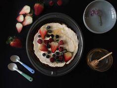 Healthy coconut pie. no sugar, no flour, no milk, no cream.