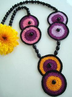 Collar crochet muy fácil de hacer