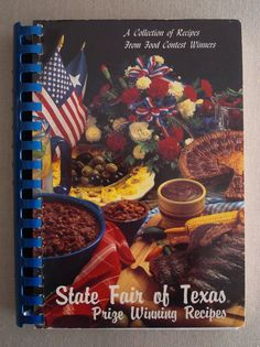 1991 State Fair of Texas Prize Winning Recipes Cookbook Paperback
