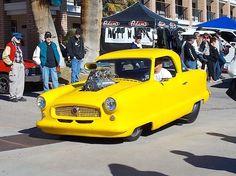 Yellow Nash Car