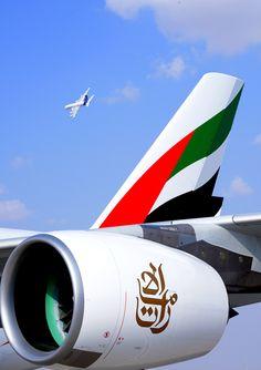 Emirates Emirates Airbus, Emirates Airline, Airbus A380, Fly Flight, Dubai Architecture, Airline Logo, Private Plane, Air Planes, Civil Aviation