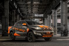 JMR Creative Design Ford Ranger Wildtrak. Wrapped in matte metallic & fluro orange film. XD SERIES® ROCKSTAR 2 Wheels. JMR.com.au
