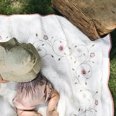 sunhat - garden floral - Fin & Vince. Baby sun bonnet, baby sunhat, baby summer hat