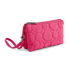 Vary You™ Wristlet  I have this wristlet. It's perfect. Holds everything I need. Would buy again.
