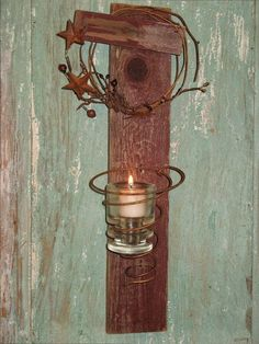 How to Recycle: Upcycled Rusty Bed Springs