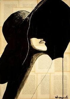 "Saatchi Art Artist Gregor Krzyzanowski; Painting, ""fashion"" #art"