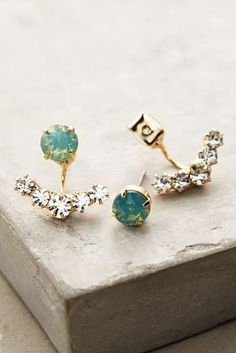 Anthropologie Adrias Anchored Earrings #anthrofave
