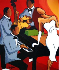 Music Painting, Art Music, African American Art, African Art, Music Drawings, Art Drawings, Pinturas Art Deco, Jazz Art, Music Illustration