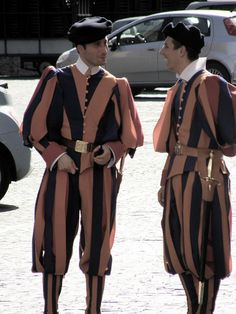The Swiss Guard (in Rome), photo by autumnfolk