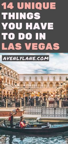 Unique things to do in Las Vegas! There are so many incredible places to see in Las Vegas, here are some of the top places you will not want to miss on your vacation! #vegas #lasvegas #nevada #travel #avenlylanetravel