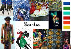 African Samba Moodboard