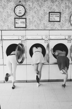 Laundry is fun with friends!  [Found on www.shelbyursu.com via Tumblr] #DoYourLaundry  @Do Your Laundry or You'll Die Alone.com