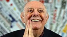 Image copyright                  AFP                  Image caption                                      Fo is one of the world's most widely performed playwrights                                Dario Fo, the Italian playwright and actor famous for his cutting political satires, has died in Milan at the age of 90. Fo, whose plays include Accidental Death of