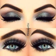 Image result for EYE MAKEUP IDEAS FOR GRAY EYES