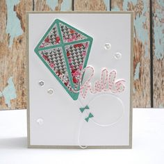 Fun shaker card by Jingle using Simon Says Stamp Exclusives.