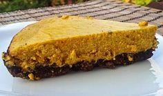 Dýňový cheesecake (Hokkaido)