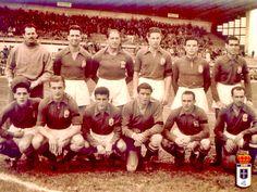 Equipos de fútbol: REAL OVIEDO contra San Andrés 28/10/1951