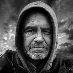 Hoodies definitely say homeless and not mafia Lee Jeffries, Image Photography, Mafia, Portrait, Child, Men, Hoodies, Google, Character