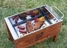 Cajas Chinas para los domingos en familia. #CajaChina #Parrillas #Parrilla… Cajun Microwave, Bbq Grill, Grilling, Pig Candy, Fire Food, Pig Roast, Cooking Equipment, Bbq Party, Wooden Art
