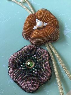 ирина руднева, объёмная вышивка, онлайн обучение, вышивка бисером, кулон, брошь, украшения ручной работы, обучение