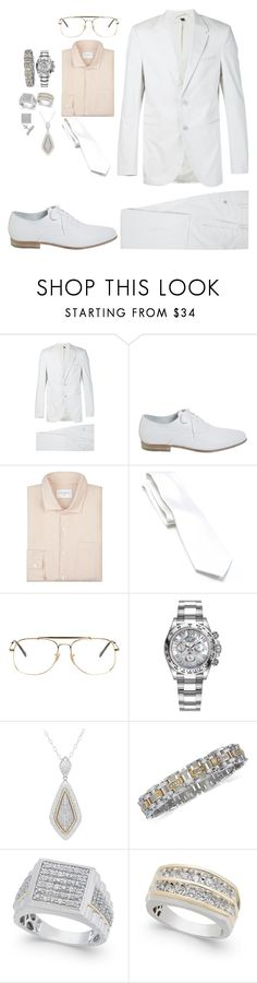 """""""327%"""" by deliriousxdoc ❤ liked on Polyvore featuring Neil Barrett, Alexander McQueen, Sandro, Croft & Barrow, Ray-Ban, Rolex, Lord & Taylor, men's fashion and menswear"""