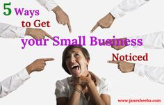 Five Ways to Get your Small Business Noticed