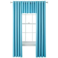Royal Velvet® Kathryn Brights Grommet-Top Window Treatments  found at @JCPenney