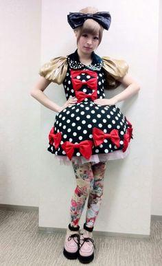 Kyary Pamyu Pamyu recreated Lolita dress