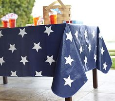 4th of July Tablecloth #potterybarnkids