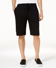 American Rag Men's Knit Shorts, Created for Macy's - Black XL