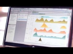 Tableau Software Overview. A good digital product presentation. Fine camera, cuts, soundtrack.