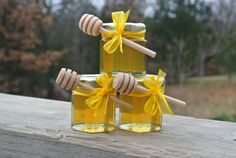 Wedding Honey Favors Yellow, Bridal Shower Favors, Party Favors,  24 Jars Filled FRESH & Safety Sealed via Etsy