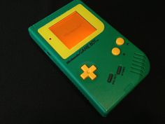 Vintage Customized Gameboy with Orange Backlight- Only $100- Available on Etsy!