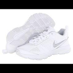 promo code 2fd36 7ffac Women S Nike T-Lite Xi White Nursing Shoes, All White Shoes, Lace Up