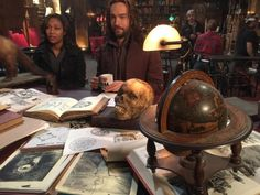 "Nicole Beharie and Tom Mison - BTS on the set of Sleepy Hollow, filming episode 2x17 ""Awakening"""