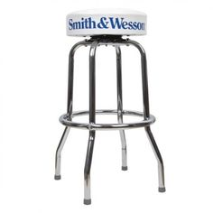 Ford Mustang Chrome Amp Black Tribar Running Horse Bar Stool
