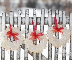 Welcoming Winter Wreaths
