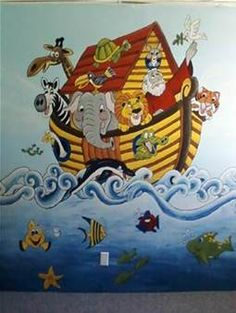 bible stories mural style - photo #26