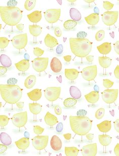 Sophie Hanton - sophie hanton - chickies together Iphone Background Wallpaper, Cellphone Wallpaper, Paper Background, Printable Frames, Printable Paper, Easter Backgrounds, Easter Greeting Cards, Easter Colors, Easter Crafts