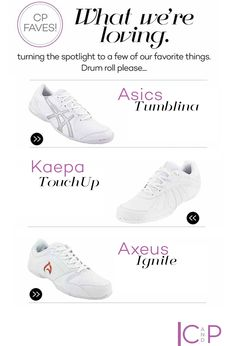 Shop the best cheerleading shoes for just about anything from your Cheer experts at Cheer and Pom. Check out our faves this month!