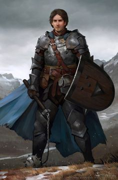 Characters for Pathfinder: Kingmaker Owlcat Games by Valeriy Vegera