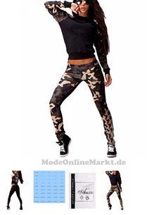 #Auxo #Damen #Camouflage #Fitness #Hoodie #Pullover #Hose #Sportanzug #Jogginganzug #Hausanzug #Schwarz #EU #36 #Etikettgr # #e #S #7594417